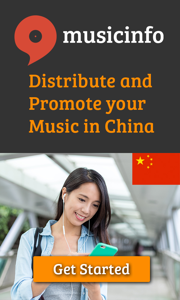 MusicInfo chinese music distribution